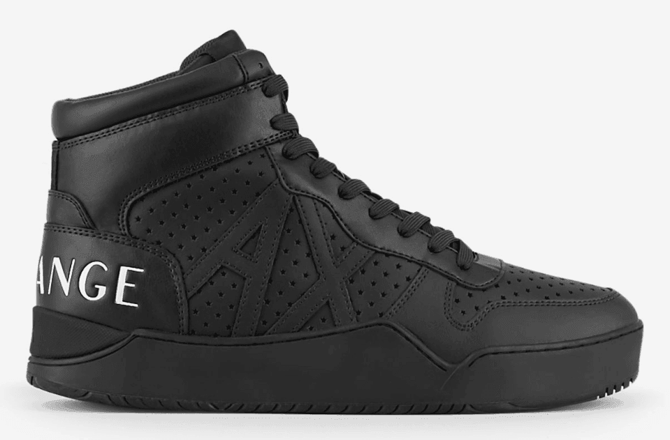 Armani Exchange Basketball Sneakers