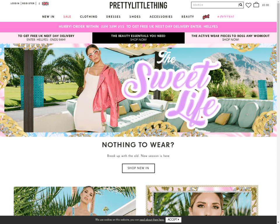 Доставка PrettyLittleThings в Россию